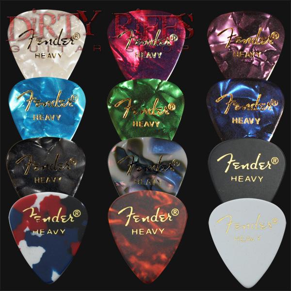1X Med 1X Heavy 2pcs NEW Metallica Guitar Picks Celluloid US Seller
