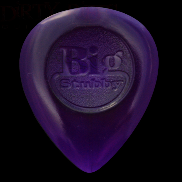 Plectrums 3.00mm Purple In A Pick Tin 24 x Dunlop Big Stubby Guitar Picks